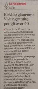 L'articolo del Corriere Adriatico