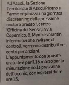 L'articolo del Corriere Adriatico, seconda parte