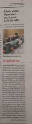 L'articolo pubblicato dal Corriere Adriatico