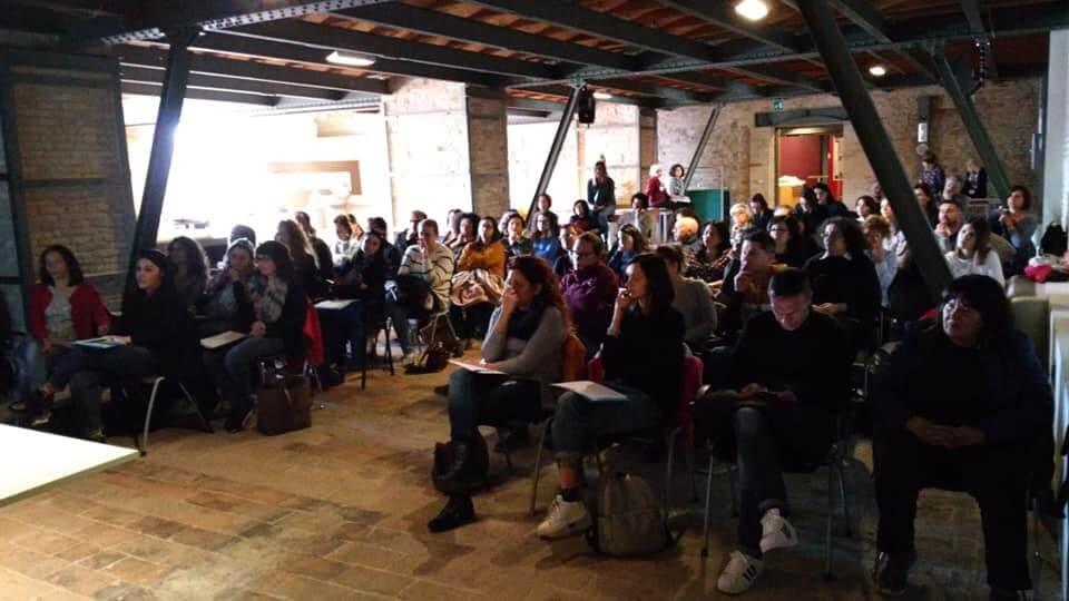 Sala gremita al Museo Omero per il convegno sulla didattica inclusiva