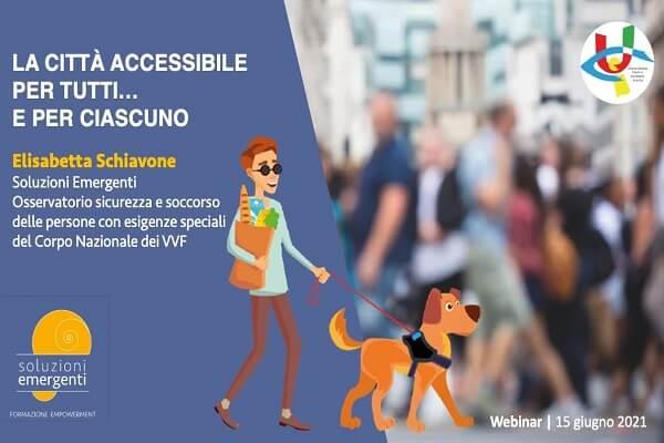La città accessibile per tutti… e per ciascuno – Incontri su Zoom